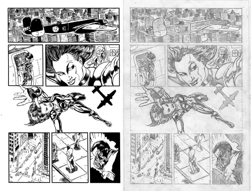 Inks over Shawn Moll pencils page 1