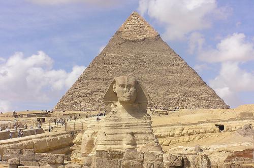 Pyramid of Giza & Sphinx