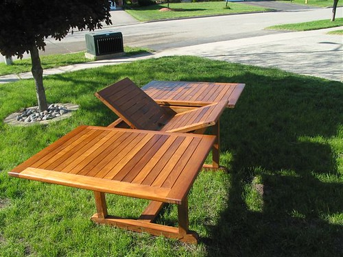 Teak Table - Butterfly Extension