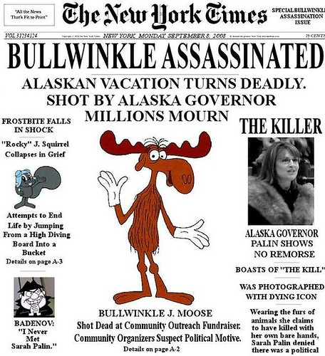 Bullwinkle - oh no!