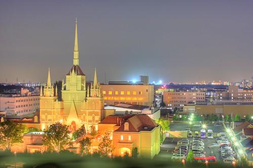 さいたま市の夜
