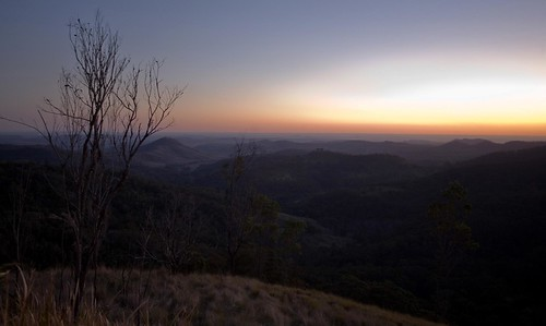 Sunset at Bunya Mountains