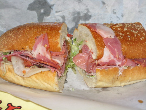 Small Godfather Sub at DiBella's