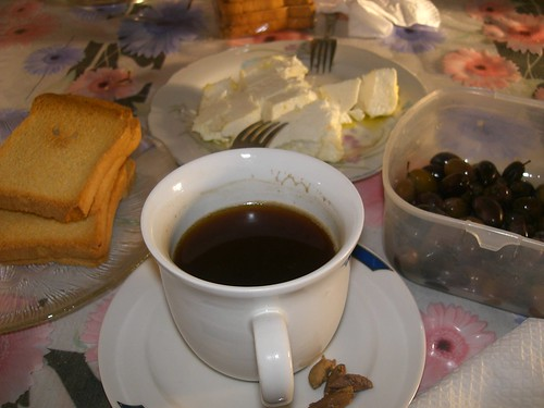 cretan breakfast in athens