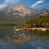 Pyramid Lake (whc7294) Tags: lake canada reflection boat nationalpark jasper alberta jaspernationalpark canadianrocky pyramidlake カナダ 10faves aplusphoto superhearts lunarvillage artistsoftheyear colourartaward platinumheartaward nikond300 piatiumheartawardhalloffame 10mosaichalloffame
