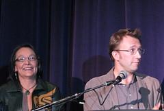 Tantoo Cardinal and Carl Bessai - VIFF 2008 Awards