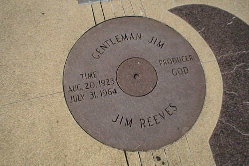 jim reeves memorial guitar sound hole