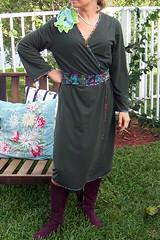Green Dress Front