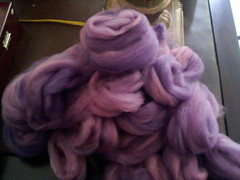 Purple Nurple predrafted roving