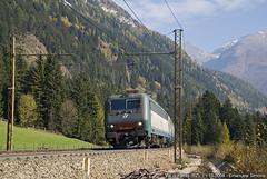 E405-013 (Emanuele Simone) Tags: simone 405 treno brennero emanuele ferrovia treni colle fleres e405 isarco simoneema