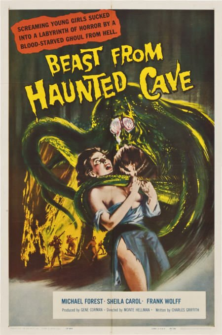 beastfromhauntedcave_poster