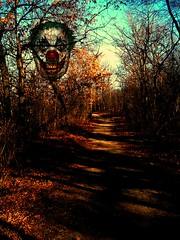 Alimagnet clown- Happy Halloween