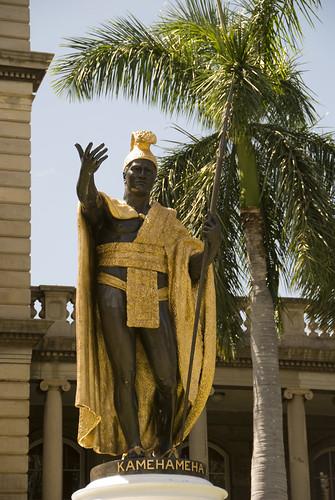 King Kamehameha Statue in Honolulu