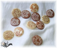 etching (mcarmen_12000) Tags: etching polymerclay cernit