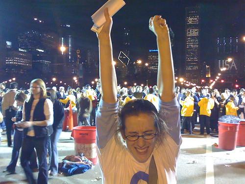 Sarah triumphant