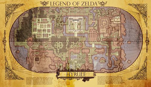 Hidden ALTTP Map Found Canon or Not  Theorizing  Zelda Universe