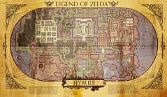 Hyrule Map (Pixel Fantasy) Tags: old game map link zelda snes hyrule