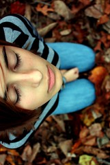 Sing me to sleep (Kristen Emili) Tags: selfportrait fall kristen asleep autmn thesmiths