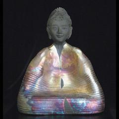 Raku Thrown and Altered Buddha Statue (TheBuddhaBuilder) Tags: sculpture art face statue modern ceramics peace nirvana spirit buddha buddhist buddhism calm altar clay zen figure pottery meditation karma spiritual yin enlightenment dharma buddah raku guan siddhartha kwan thebuddhaproject buddhabuilder