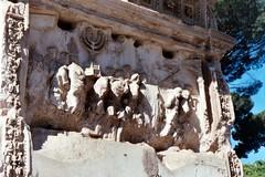 Sack of Jerusalem (larkken) Tags: italy sculpture rome roma archaeology archoftitus sculpturalrelief digitalscan imperialrome