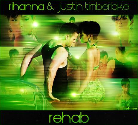 Rihanna & Justin Timberlake - Rehab by netmen.