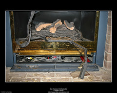 Gas Fireplace that Exploded