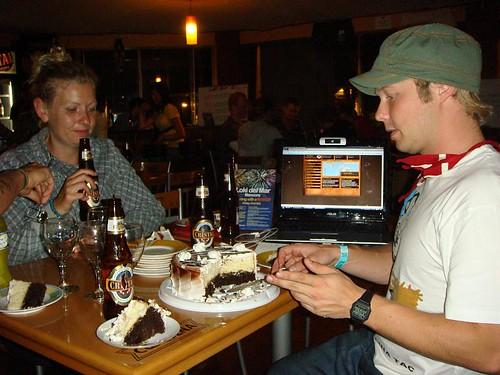Danish Lisbeth and Kasper - the latter, now 25.