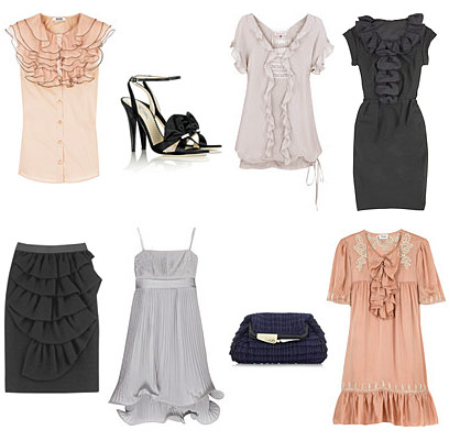 Statement Ruffles from Net-A-Porter