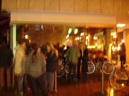 Berliner Klub im Mood von Hans Romanov. Februar 2007