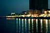 The pearl (ًWeda3eah*) Tags: show blue sea cars beach by buildings island amazing day y style p pearl edit qatar sunsit qtr lighte alfardan revera weda3eah