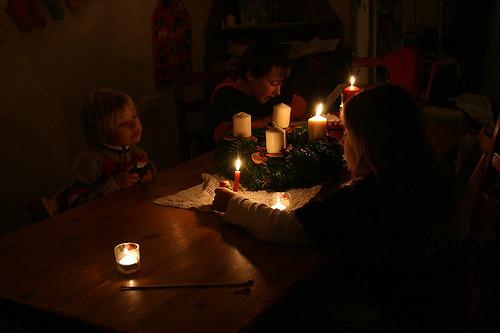 der erste Advent Kerzenschein02