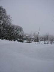 Masoucos desde abaixo e nevado