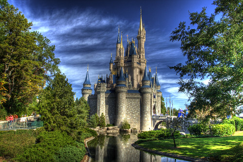 Cinderella Castle HDR - Hooray I'm Helping