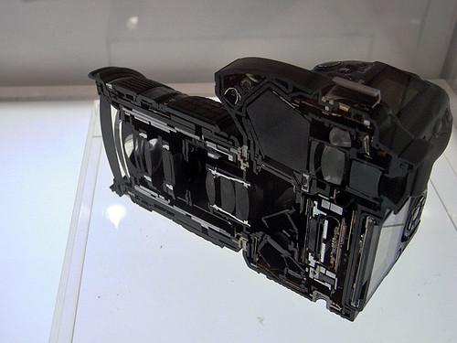 OLYMPUS E-30 cut model