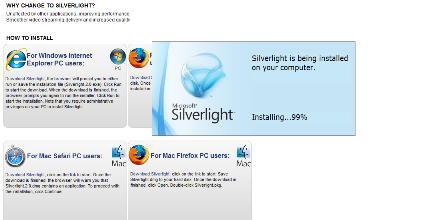 ITV Silverlight update