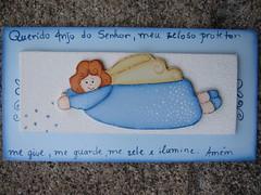 anjinho azul... blue little angel... (AP.CAVALARI / ANA PAULA) Tags: angel painting tables bebe decorao anjo pintura mdf quadros anapaula cavalari feitoamo anapaulacavalari apcavalari