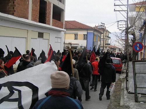 prosvjedi grčka athens atena