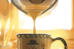 the glass pitcher (a song under the sugar sugar) Tags: winter holiday hot recipe drink drinks latte eggnog matador eggnoglatte warmwintercocktails