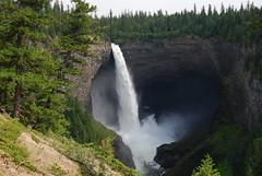 Helmcken Falls (themadpothead) Tags: trees fall ice water river waterfall britishcolumbia columbia canyon falls waterfalls dome helmcken british volcanic helmckenfalls icedome 4thtallestincanada