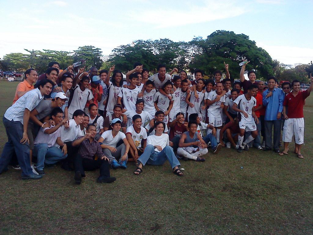 UP Football Team, Champions!