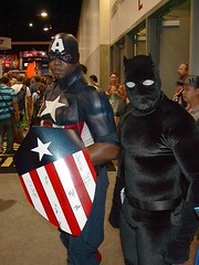 Isiah Bradley and T'challa