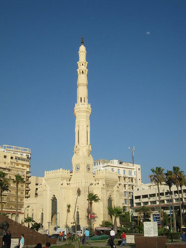 The beautiful mosque just downtown