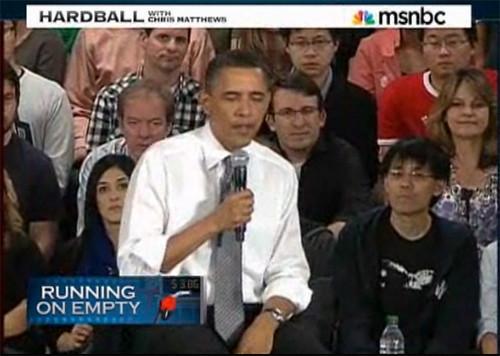 MSNBC Hardball Obama- Ctrl+z