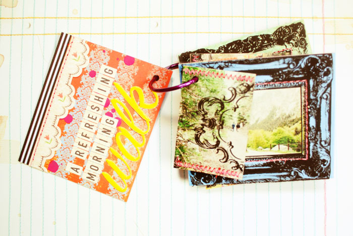*Enjoying Springtime* Minibook {pgs 1&2}