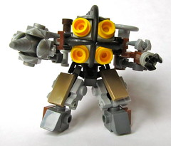 Big Daddy heading your way (Imagine) Tags: toy lego videogame minifig littlesister mech bigdaddy moc bioshock imaginerigney