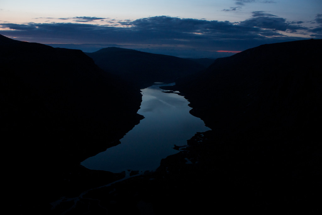 Loch Avon before dawn