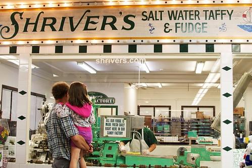 Shriver's salt water taffy.