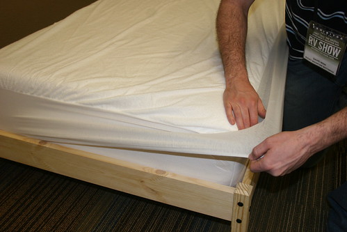 protect a bed mattress cover