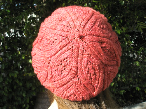 Beret Back View
