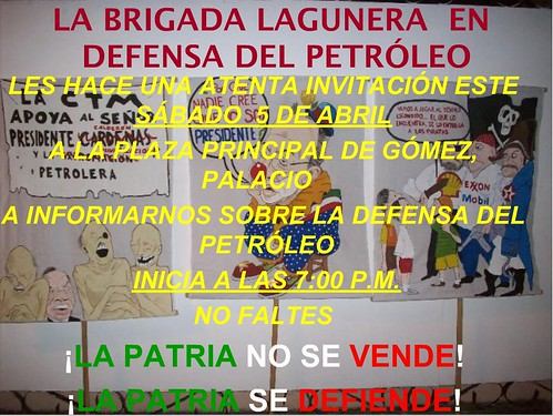 la brigada de defensa lagunera invita